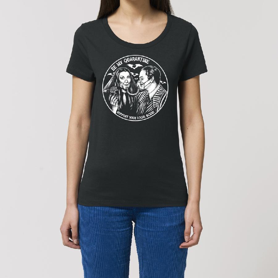 Essential Ladies T-Shirt Be My Quarantine - Addams Family