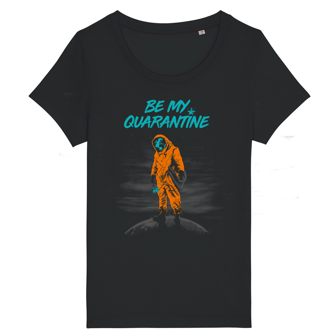 Be My Quarantine Be My Quarantine - Kommune Art Essential Ladies T-Shirt black