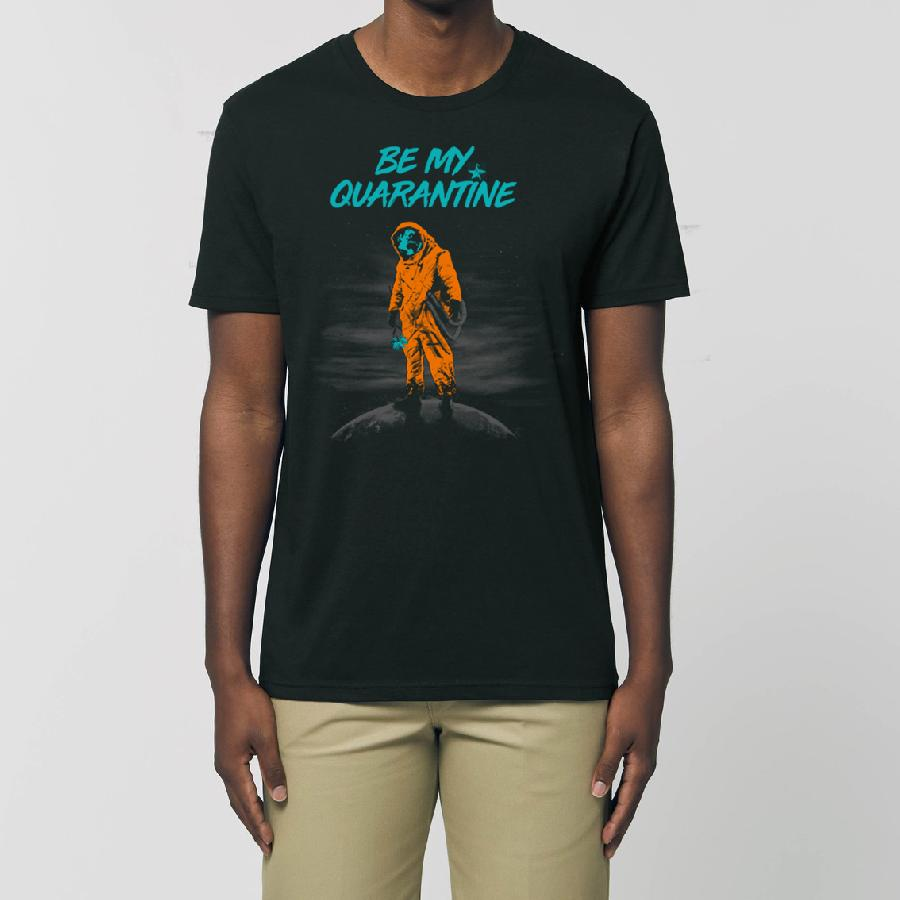 Essential Unisex T-Shirt Be My Quarantine - Kommune Art