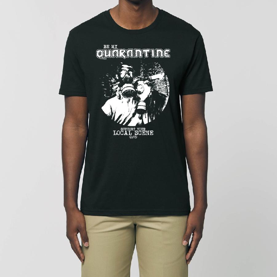 Essential Unisex T-Shirt Be My Quarantine - Gas Mask