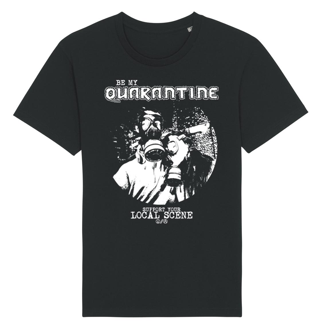 Be My Quarantine Be My Quarantine - Gas Mask Essential Unisex T-Shirt schwarz