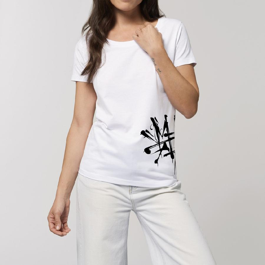 Tailliertes Shirt Mario Hartmann - Logo