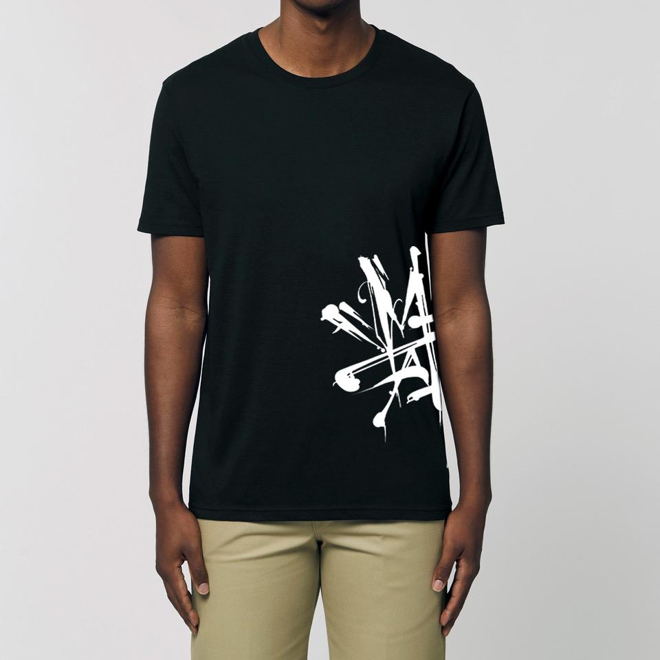 Mario Hartmann Mario Hartmann - Logo Untailliertes Shirt black