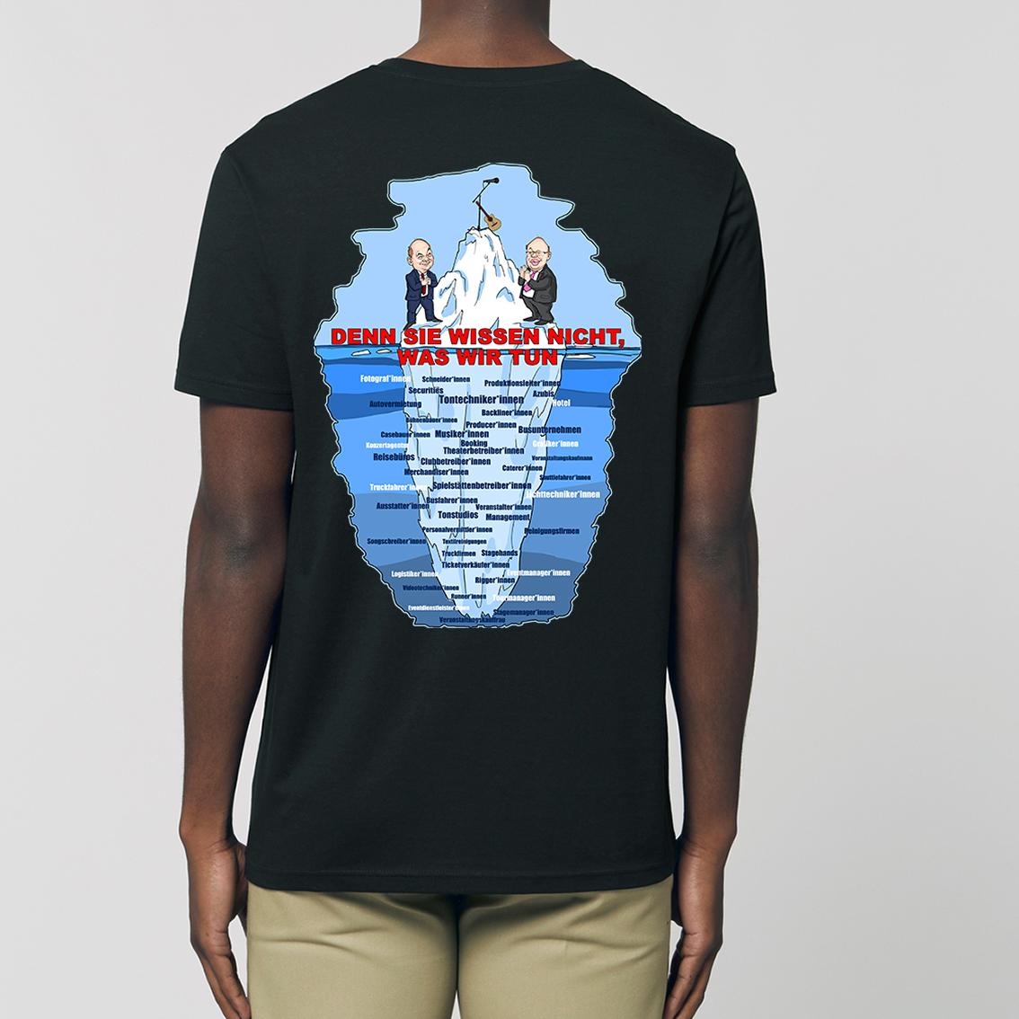 Tourhafen Crewshirt 2020/21 Untailliertes Shirt Schwarz