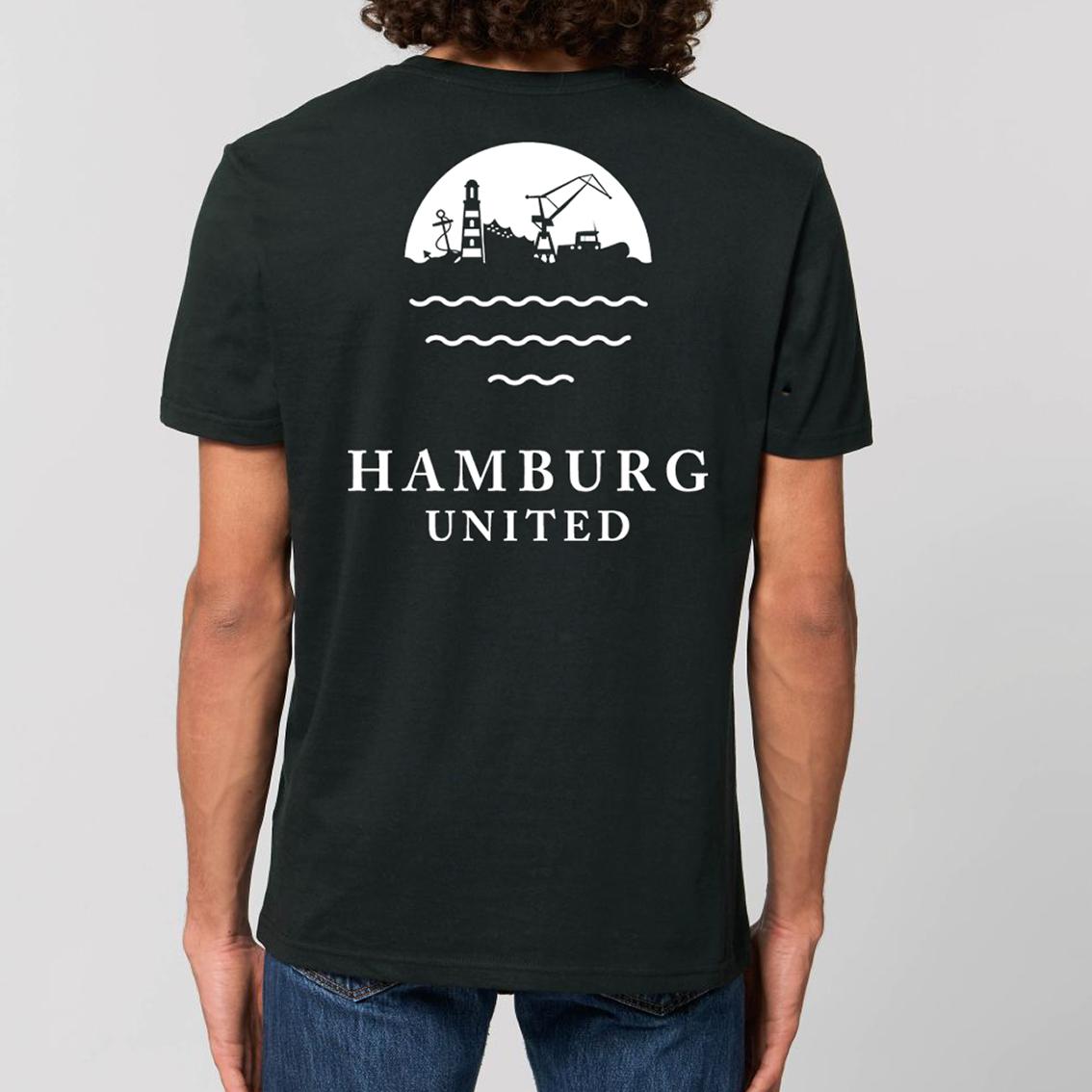 Tourhafen Hamburg United Untailliertes Shirt
