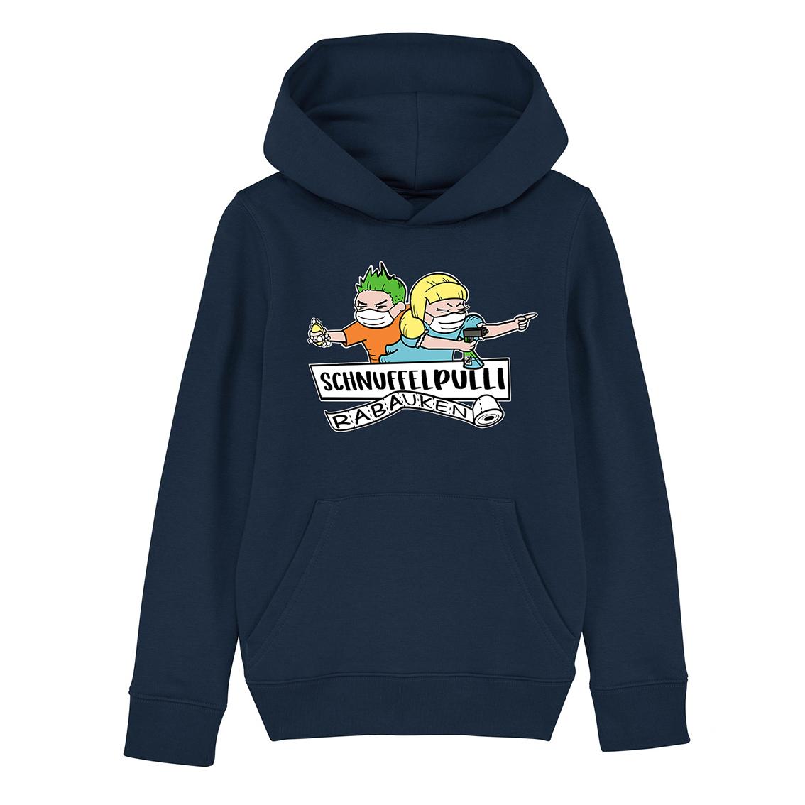 Tourhafen Schnuffelpulli Kids Hoodie French Navy