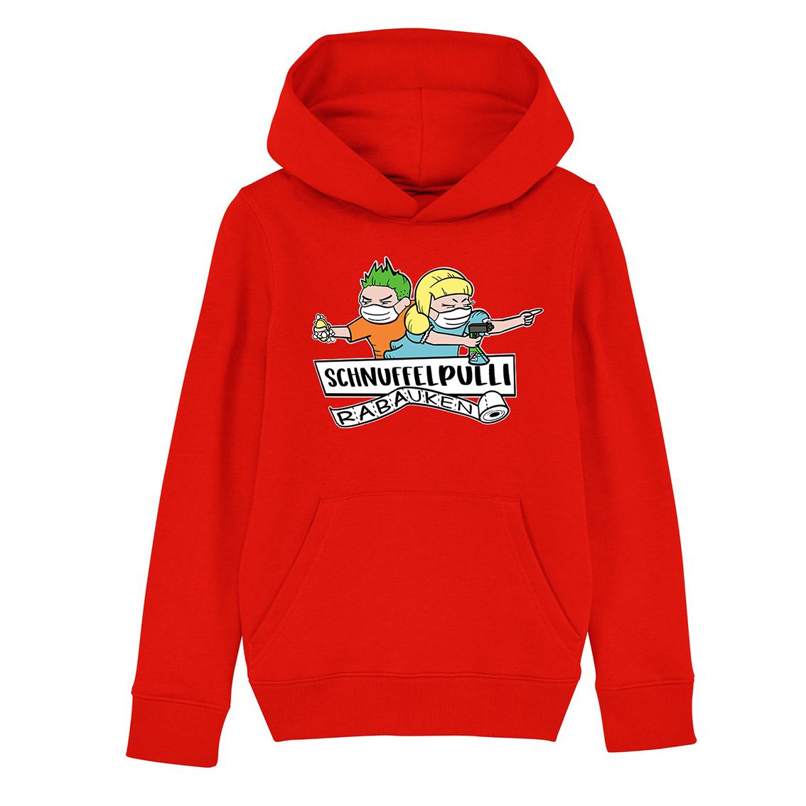 Tourhafen Schnuffelpulli Kids Hoodie Red