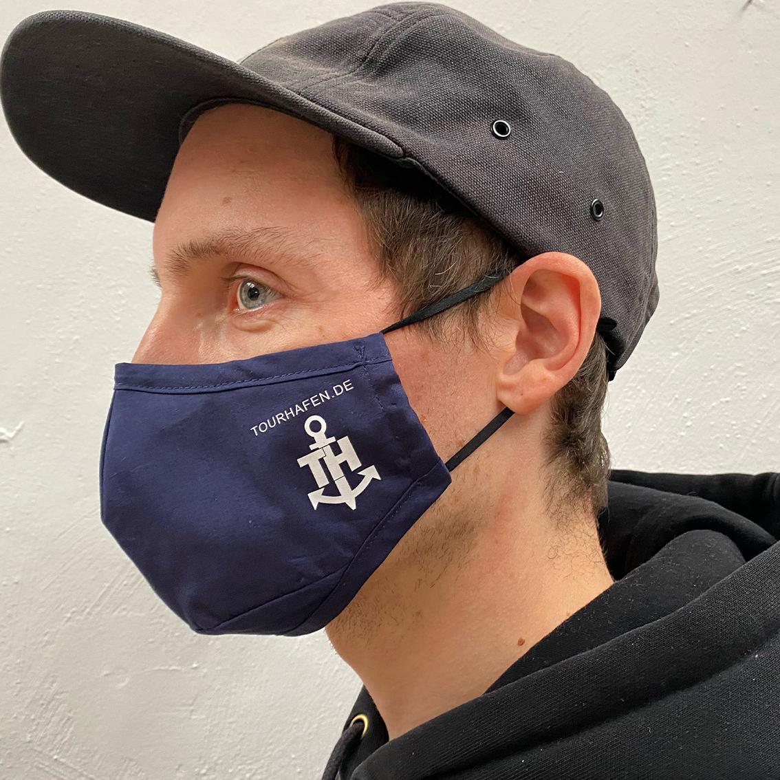Tourhafen Tourhafen Facemask Face mask darkblue